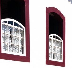 fenêtres rouges Tiradentes