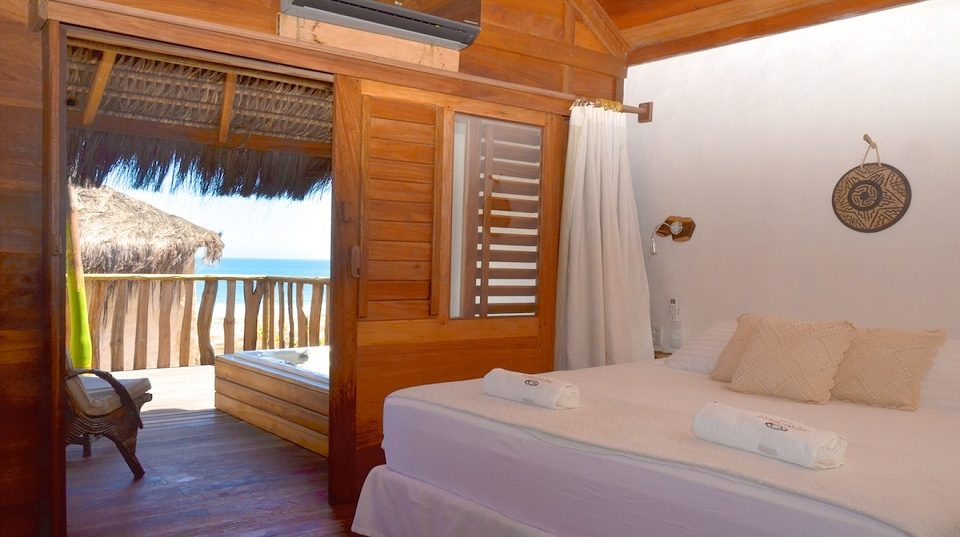 hotel Hurricane Jericoacoara Bungalow vue mer