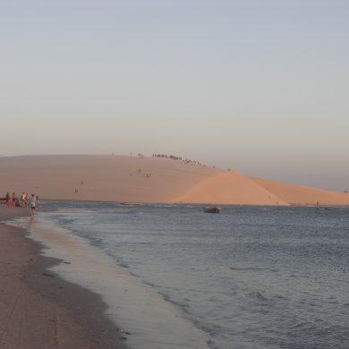 Jericoacoara la foule se rassemble sur la dune