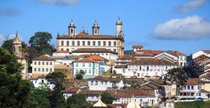les toits d'Ouro Preto Minas Gerais