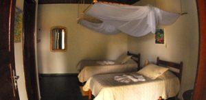 photo chambre moustiquaire Santa Tereza Pantanal