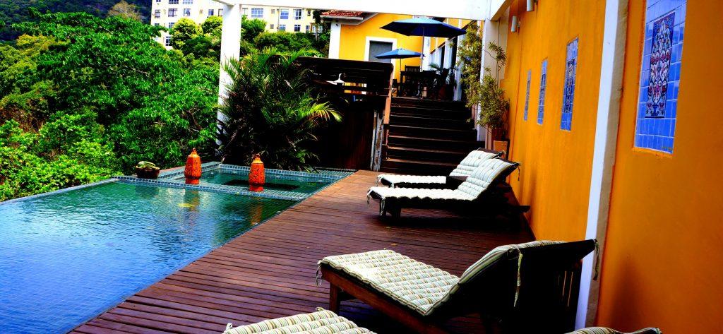 terrasse Hotel Altos de Santa Teresa Rio de Janeiro