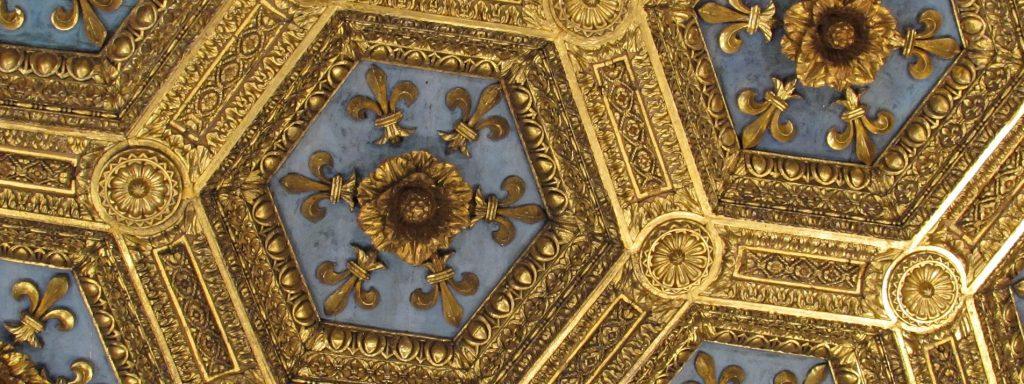 Plafond avec dorures Brésil baroque