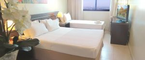 Chambre triple Hotel Saint Paul Manaus