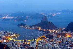 Rio de Janeiro Botafogo et Pain de sucre
