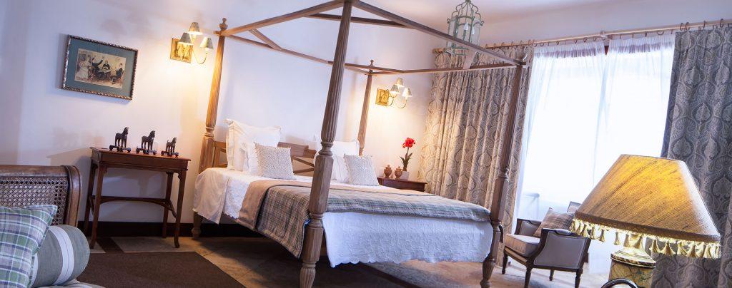 chambre coloniale hôtel Casa de Santo Antonio