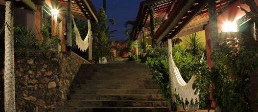 vision nuit escalier pousada Encantes do Nordeste