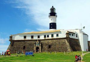 vue Fort Barra Salvador de bahia