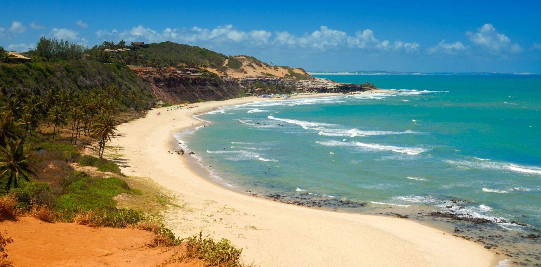 vue panoramique plage pipa