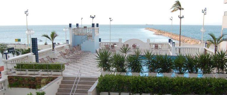 vue piscine hotel Sonata Fortaleza