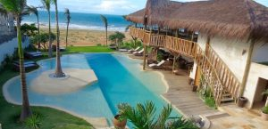 vue restaurant piscine Hotel Hurricane Jericoacoara