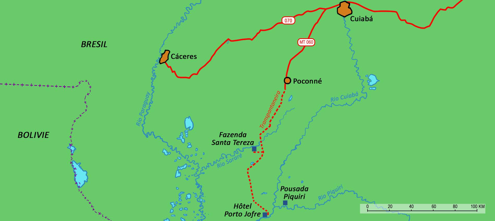 Carte Amerique Du Sud Pantanal.Pantanal Sur Les Traces Du Mythique Jaguar Au Cœur Du Bresil