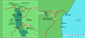 Carte parc national chapada dIamantina