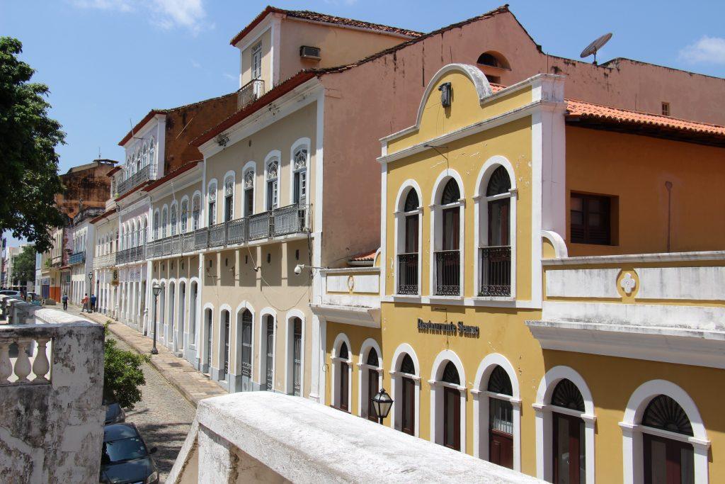 Rue de Sao luis et le Senac