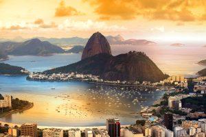 Rio De Janeiro, Couché de soleil