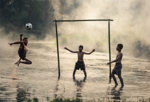 enfant foot brésil