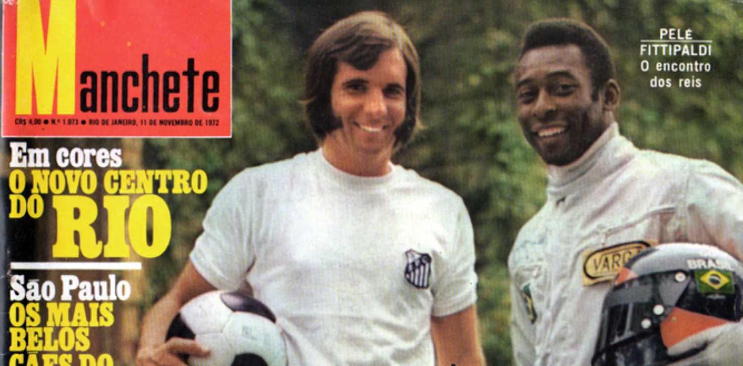 1972 Fittipaldi Pelé Magazine brésilien (article F1)