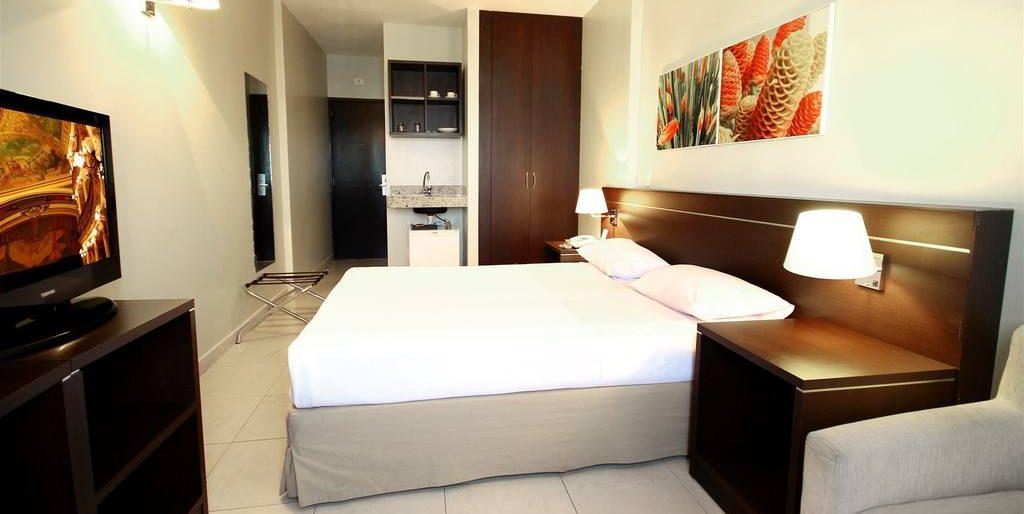 chambre lit double hotel saint paul Manaus