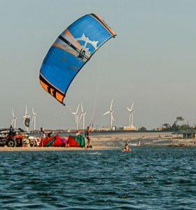 kite surfeur en body drive