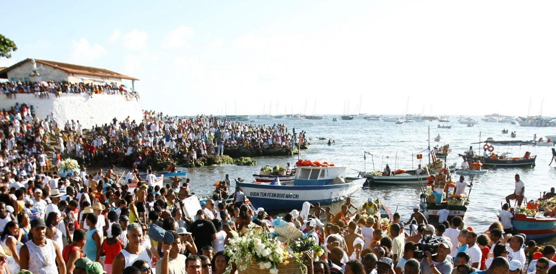 offrande à l'océan jour de Iemanja