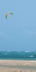kitesurf plage cumbuco