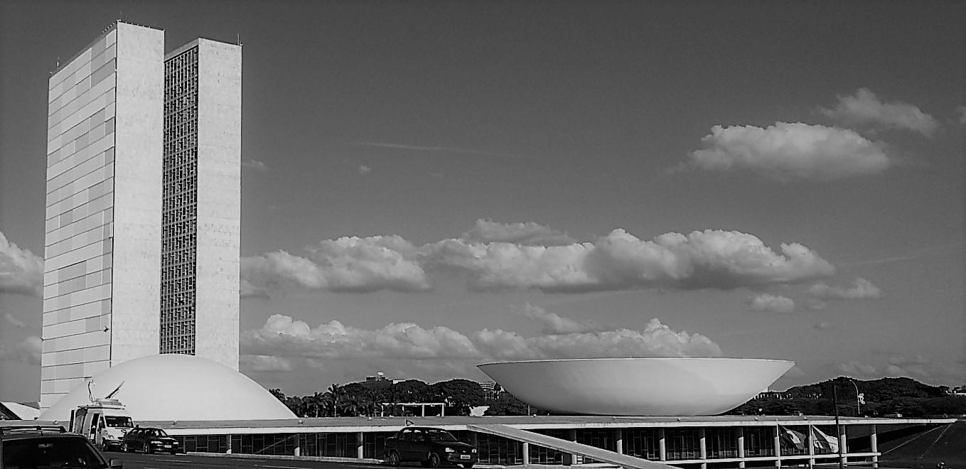 le palais de la présidence à Brasillia