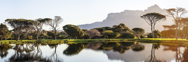 lac dans la région de cap town afrique du sud