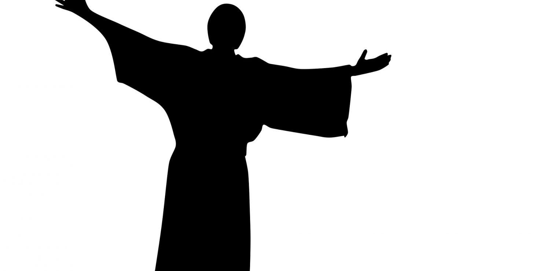 dessin de prêcheur religieux
